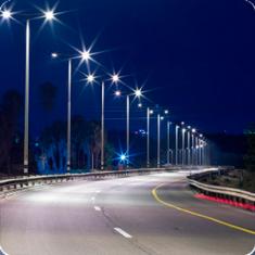 Консольные уличные светильники